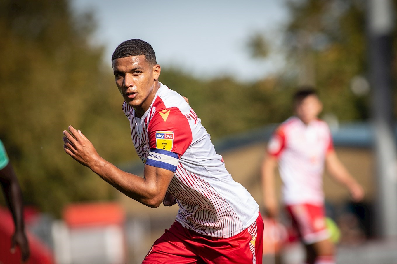 Vote Luther James-Wildin for August Goal of the Month - News - Stevenage  Football Club