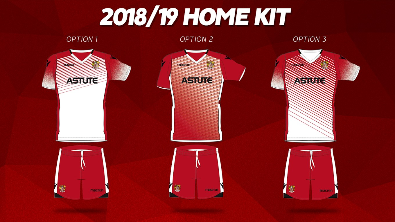 REVEALED  Stevenage FC 2018 2019 Kit Designs - News - Stevenage ... 79bde231b