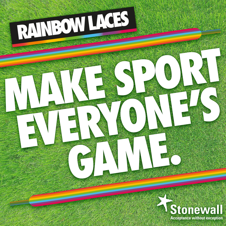 Boro Backing Rainbow Laces This Saturday